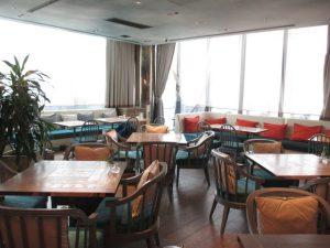 J'adore Shinsaibashi Lounge Area in The Morning