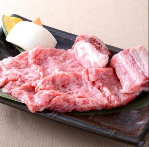 Selected excellent Japanese cattle rib ¥ 1,450