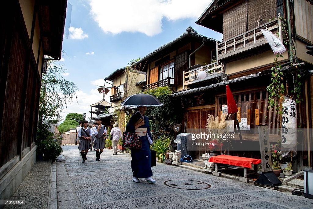 Sannenzaka and Ninenzaka Streets